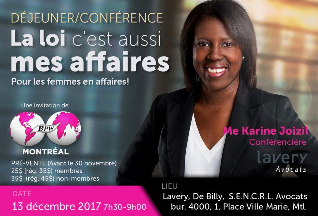 InfoConférence 13 Décembre