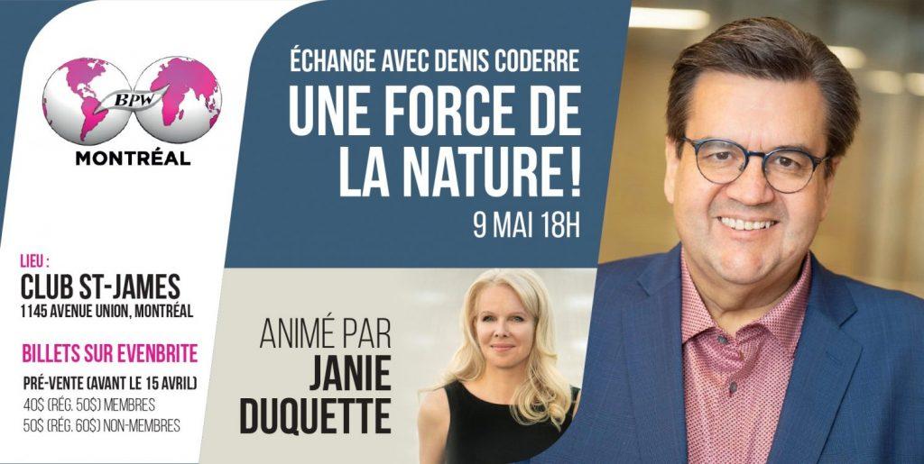 Denis Coderre, une force de la nature
